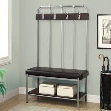 Wall Mounted Coat Rack Plans Beauteous Storage Benches With Coat Rack L32 Wall Mounted Coat Rack With