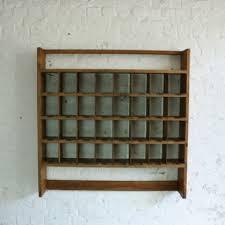 vintage industrial royal mail wooden pigeon holes