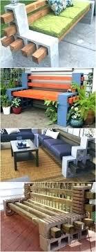 concrete block furniture. Cinder Block Furniture Coffee Table Concrete Indoor . M
