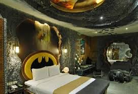 cool kids bedrooms. Batman Room Ideas With Cool Ceiling Decor And Bed For Kids Bedroom Decoration Bedrooms