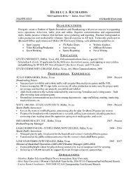 Mba intern resume