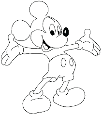 Mickey Mouse Clubhouse Color Coloring Mickey Mouse Clubhouse