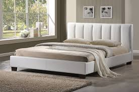 Limelight Pulsar White 5ft Kingsize Faux Leather Bed Frame by ...