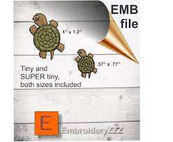 Boer Goat Embroidery Designs Tiny Turtle Embroidery Design With Extra Small Turtle