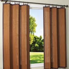 espresso bamboo outdoor curtain 40 x 63 ds