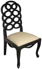 black side chair. Black Side Chair W