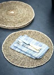 best placemats for round table dazzling design inspiration for round table runner and kitchen silicone placemats