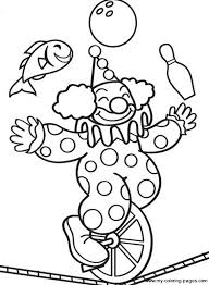 Small Picture free clown coloring pages Coloring Pages Ideas