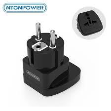 <b>NTONPOWER</b> UTA <b>Universal Travel</b> Adapter European Plug ...