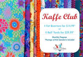 Kaffe Club - Sew Sisters Online Store featuring quilt fabric ... & Kaffe Club Adamdwight.com