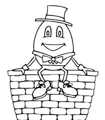 nursery rhyme coloring pages coloring sky nursery rhyme coloring pages humpty dumpty coloring pages free
