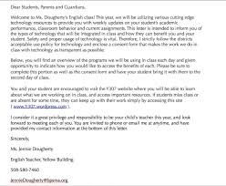 parent teacher conference letter to parents examples parent welcome letter from teacher cover letter examples cv uk