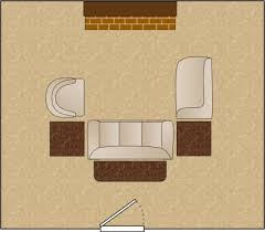 furniture examples. Living Room Arrangement U Shaped Grouping Furniture Examples
