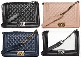 Bags - Part 2 & DailyLook Large Classic Quilted Purse in black, nude, navy and black and  white ( Adamdwight.com