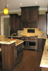 what other wall colors beside yellow tones will look good with dark kitchen wall colors with