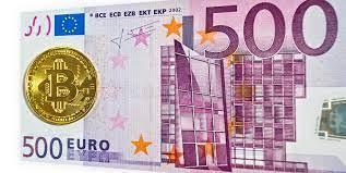Convert 1 euro to hungarian forint. Moneda De Bitcoin De Oro De 500 Euros Quinientos Imagen De Archivo Imagen De Cinco Encadenamiento 160759191