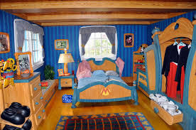 Mickey Mouse Bedroom Wallpaper Disney Bedrooms Prepossessing Children Disney Bedroom Theme Ideas