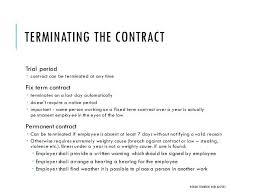 Contract Termination Notice Employee Termination Rental Agreement ...