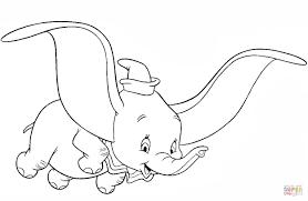 Dumbo Kleurplaat Gratis Kleurplaten Printen