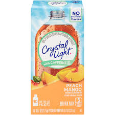 Sugar Free Crystal Light Nutrition Facts 40 Packets Crystal Light On The Go Sugar Free Powdered