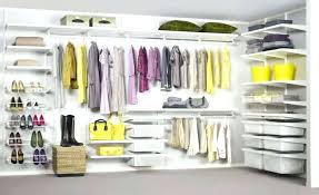 walk in closet shelving under stairs elfa system design