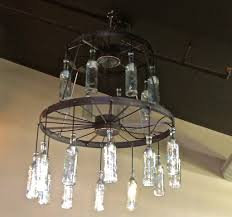full size of furniture fabulous glass bottle chandelier 18 pretty 31 vintage wagon wheelhandelier use bottles