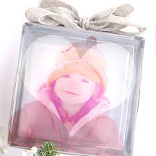 how to make a diy glass photo block