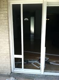 sliding door pet door installing a sliding glass dog door and sliding glass doors dog door