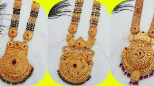 Ganthan Design In Gold New Gold Ganthan Designs For Bride Ll Latest Gold Ganthan Design Ll Gold Mangalsutra Design