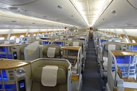 Emirates Flight Ek210 Seating Chart Comparing First Business Class On The Emirates A380 One