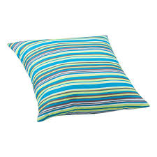 zuo multicolor stripe puppy large outdoor throw pillow