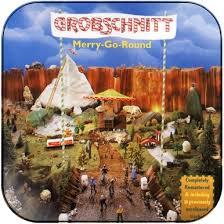 <b>Grobschnitt Merry Go Round</b> Album Cover Sticker