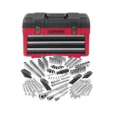 craftsman tool chest with tools. craftsman 182 piece mechanics tool set with 3-drawer chest tools