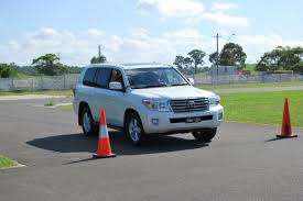 4WD Toyota Landcruiser 200 Series Stopping Distance Test - Disc ...