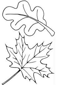 Small Picture fall leaves coloring pages