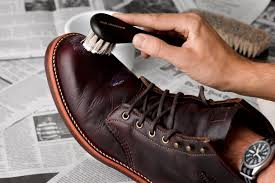 dry clean leather shoes
