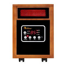 original 1500 watt infrared portable space heater with dual heating system
