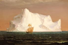 floating iceberg an 1859 painting oil and graphite on paperboard by frederic edwin church born 4 may 1826 d 7 april 19 pinteres
