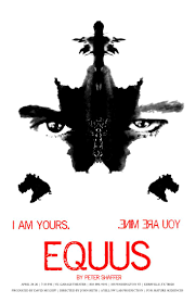 best images about equus leonardo dicaprio plays poster for equus