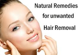 remove unwanted hair from face