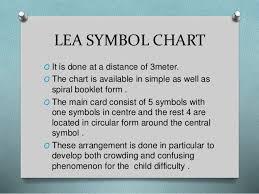 Lea Symbols Eye Chart Printable Visual Acuity In Preschool Children