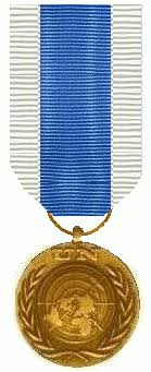 Un Medals Chart United Nations Special Service Medal Wikipedia