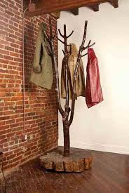 Tree Branch Coat Rack Adorable Woodworking Project From Tree Branch To Coat Rack Do It Yourself