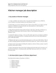 this is kitchen manager resume goodfellowafb us
