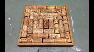 making a trivet with wine corks