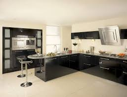 Cream Floor Tiles For Kitchen Kitchen Design Awesome Black And Cream Kitchen Ideas Black And