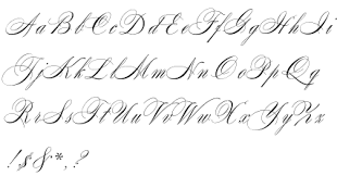 19 best calligraphy fonts images