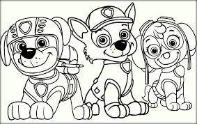 Small Picture Sskye Rocky Zuma Paw Patrol Colouring Pages Color Zini