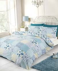 blue and yellow duvet sets