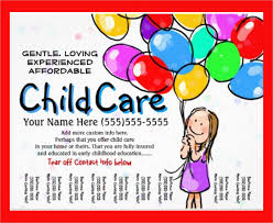Childcare Flyers Flyers For Daycare Coastal Flyers